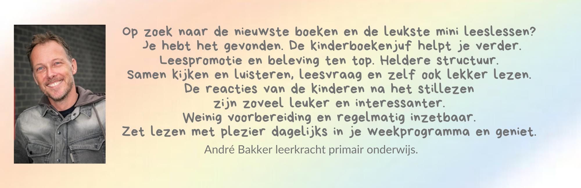 Review Lezen met Kinderboekenjuf door André Bakker