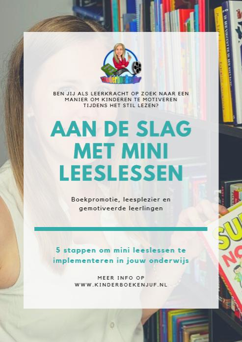 E-book Aan de slag met mini leeslessen